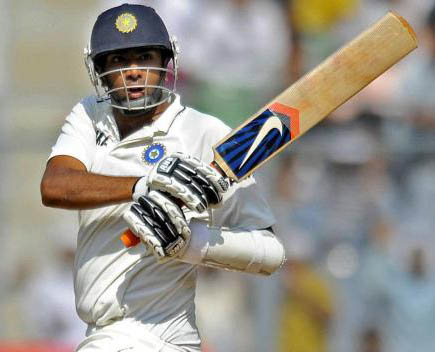 R Ashwin during his brilliant knock of 91* in the Kolkata Test against England