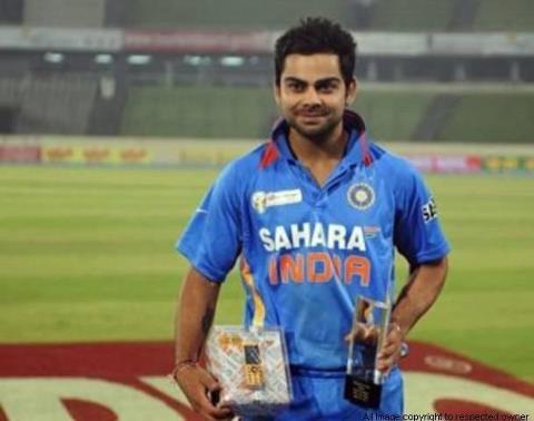 Virat Kohli bagged CEAT International Cricketer of the year award