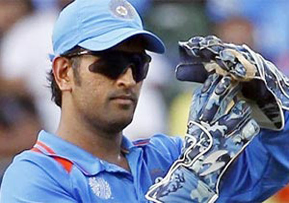Dilip Vengsarkar and Ajit wadekar bats for skipper MS Dhoni