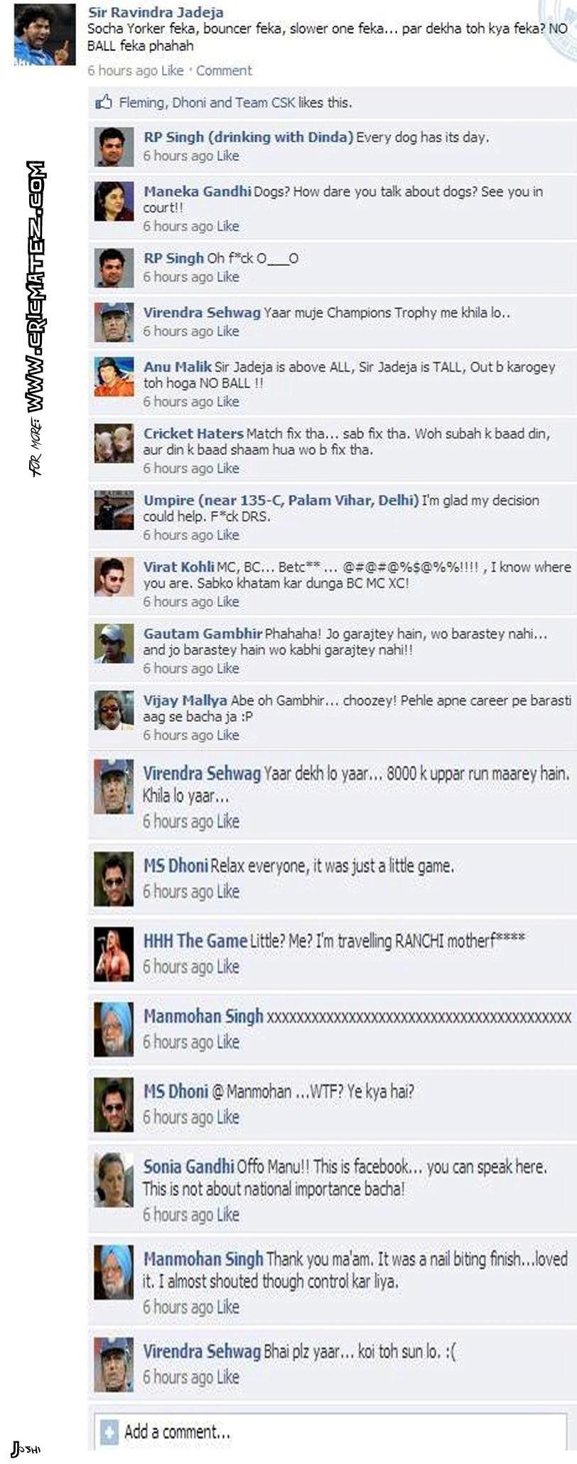 RP Singh's No Ball To Sir Jadeja