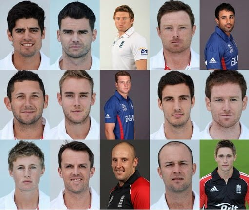 England Squad for ICC Champions Trophy ICC Champions Trophy Team Preview - ENGLAND