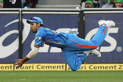 Rohit Sharma, one of the best fielders