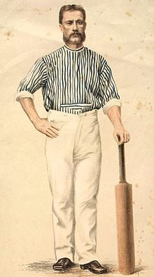 Charles Bannerman - Faced the first ball, scored first run, boundary, fifty and century in Test Cricket