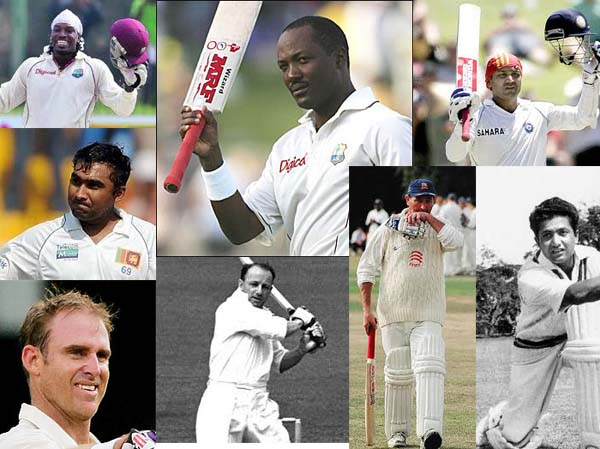 Triple Century in Test cricket