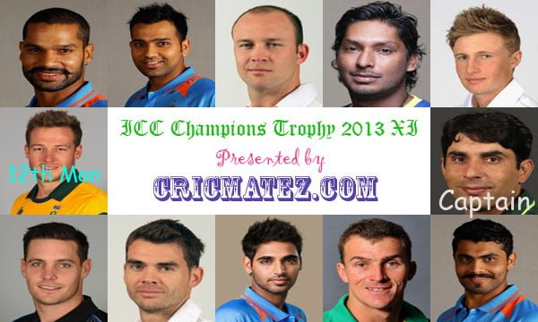ICC Champions Trophy XI