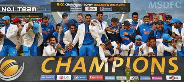 INDIA - The Undisputed Champions