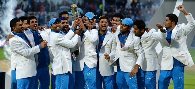 Dhoni's Speech Champions Trophy 2013