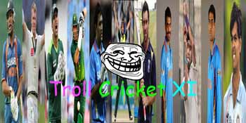 troll cricket xi