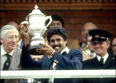 Kapil was extremely instrumental in India being the World Cup Champs.