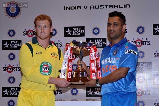 India Australia ODI Series 2013