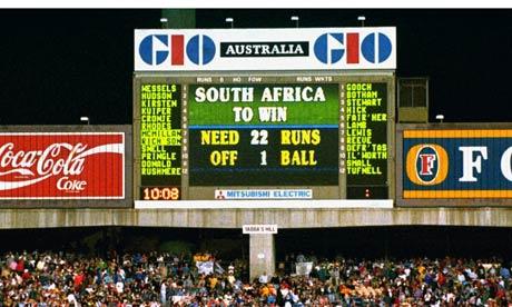 England vs South Africa, 1992 Semi Final