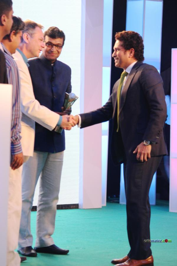 Sachin Tendulkar received Cricketer of the generation award