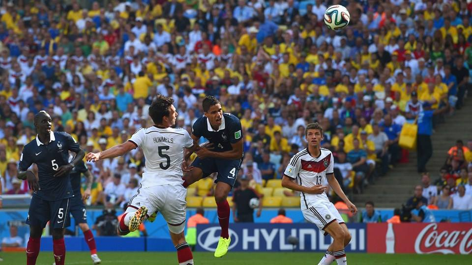 Hummels scores the opener at the Estadio do Maracana