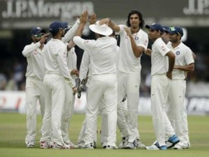 The Lord's Triumph!: Ishant bowled a historic spell