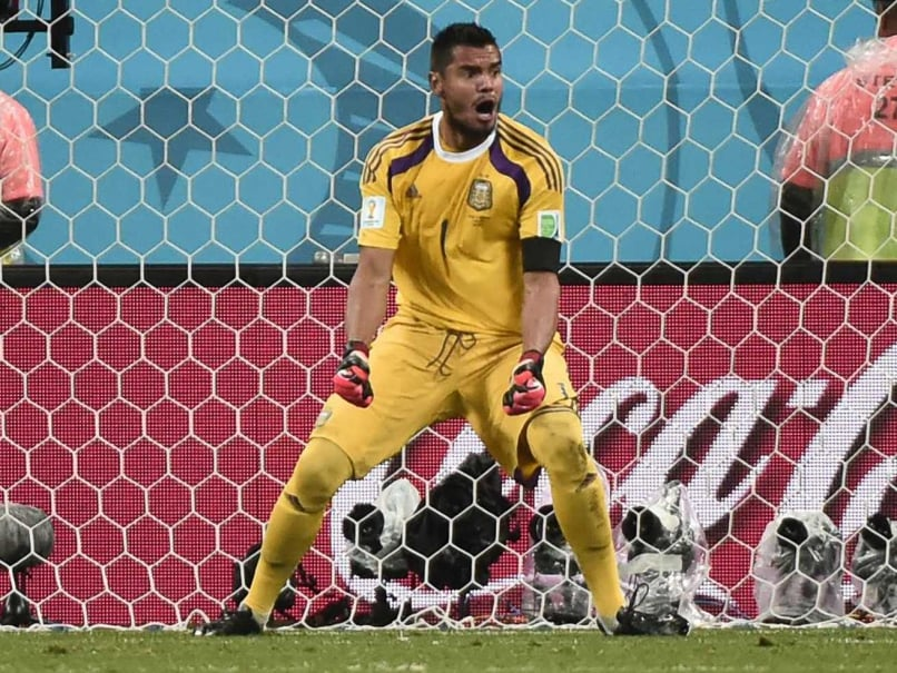 Sergio Romero put Argentina into the finals after 24 years.