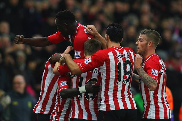 Mane came up with a wondergoal to put Southampton on front and then capitalise