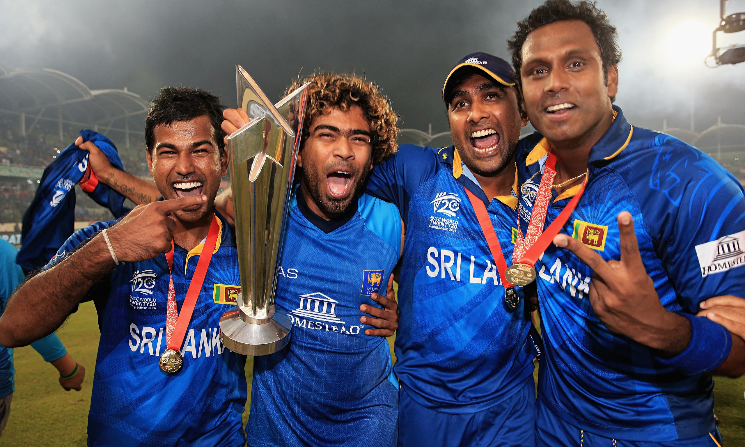 A new team is born. Angelo Mathews takes over at the helm.