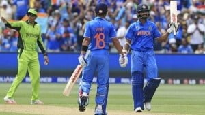Kohli and Dhawan stitched a  partnership of 129 runs and laid a platform for others