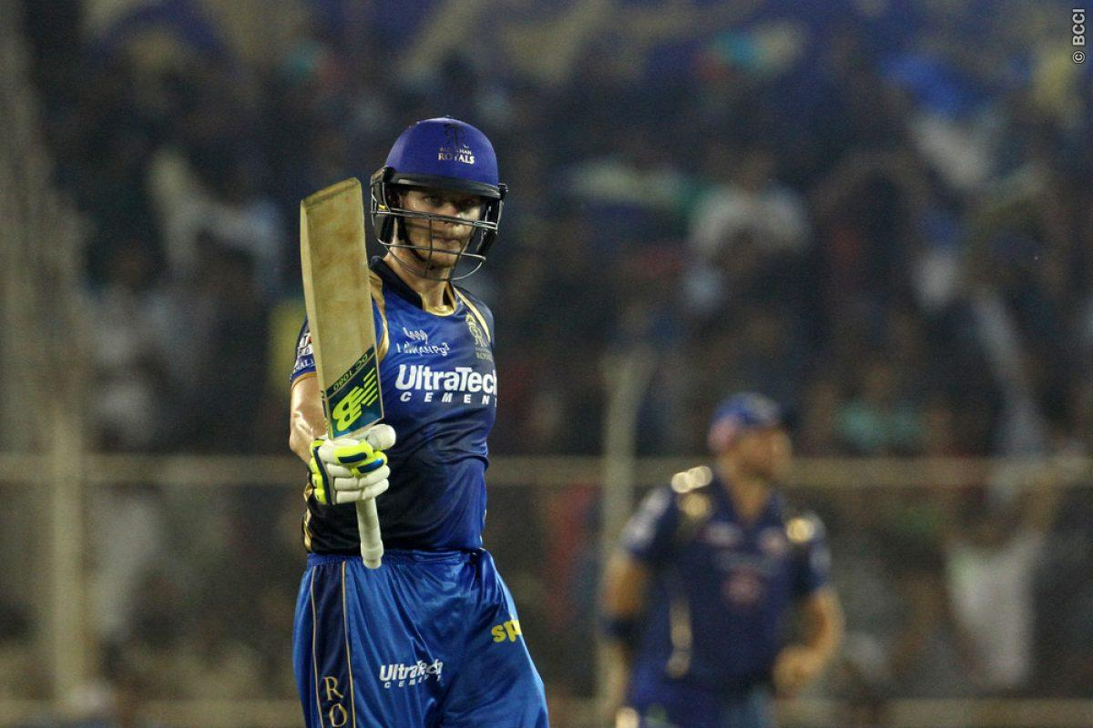 RR Captain Steve Smith, along with Ajinkya Rahane completed the chase.
