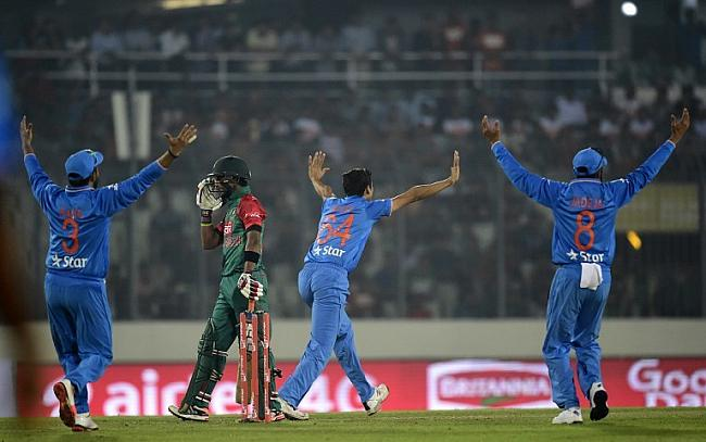 But the Indian bowlers continued to chip away with wickets.