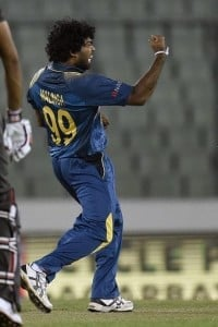 Malinga made a gleeful return by picking two wickets off the opening over.