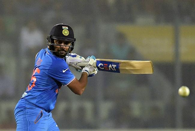 Rohit scored a splendid 83 of 55 balls to steer India to a comfortable total of 167 runs.
