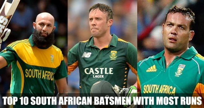 South African Batsmen With Most Runs