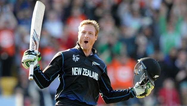 Top 10 Current ODI Batsmen With Best Strike-Rate - Martin Guptill